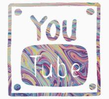 Swirled Youtube Logo Kids Clothes
