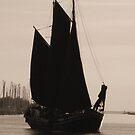 Old Sailing Ship by Britta Döll