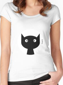 Colour Cat Women's Fitted Scoop T-Shirt