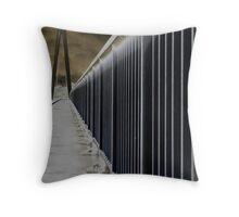 Batman Bridge Throw Pillow