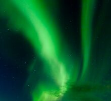 Aurora Borealis - Þingvellir #7 by Stefán Kristinsson