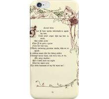 The Old Garden and Other Verses by Margaret Deland and Wade Campbell, Illustrated by Walter Crane 1894 165 - Second Lover iPhone Case/Skin