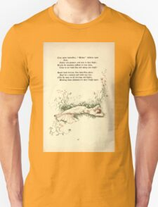 The Old Garden and Other Verses by Margaret Deland and Wade Campbell, Illustrated by Walter Crane 1894 117 - Tiny White Butterflies Unisex T-Shirt