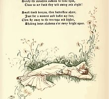 The Old Garden and Other Verses by Margaret Deland and Wade Campbell, Illustrated by Walter Crane 1894 117 - Tiny White Butterflies by wetdryvac