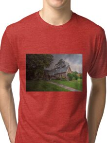 St Aiden's Anglican Church, Exeter. Tri-blend T-Shirt