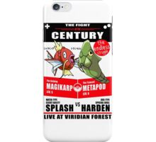 Magikarp vs Metapod iPhone Case/Skin