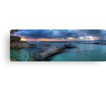 Sunrise Sunrays - Nth Curl Curl Tidal Pool Canvas Print