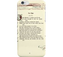The Old Garden and Other Verses by Margaret Deland and Wade Campbell, Illustrated by Walter Crane 1894 125 - To Thee iPhone Case/Skin