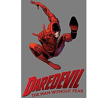Daredevil The Man Without Fear Photographic Print