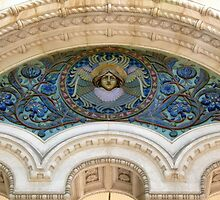 Russian Cathedral, Nice ... Detail by Trish Meyer