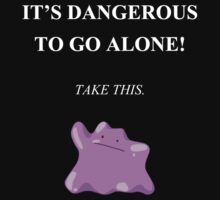 Dangerous to go alone! Take Ditto. by GliGlitched