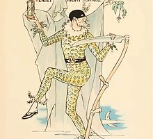 A flower wedding - Described by Two Wallflowers by Walter Crane 1905 75 - They Wild Thyme they had, deadly nightshade by wetdryvac