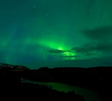 Aurora Borealis - Þingvellir #11 by Stefán Kristinsson