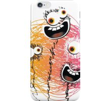 Be crazy Monsters iPhone Case/Skin