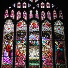 Christmas Nativity Stained Glass Window by AnnDixon
