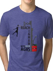 Reach Higher with NDC AGVs Tri-blend T-Shirt