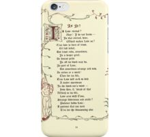 The Old Garden and Other Verses by Margaret Deland and Wade Campbell, Illustrated by Walter Crane 1894 136 - Is It iPhone Case/Skin