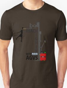 Reach Higher with NDC AGVs Colour Unisex T-Shirt