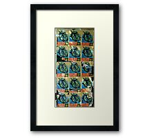 YOUR DAYS ARE NUMBERED Framed Print