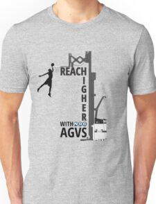 Reach Higher with NDC AGVs BW Unisex T-Shirt