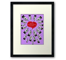 The HEART'S Directions to TRUTH Framed Print