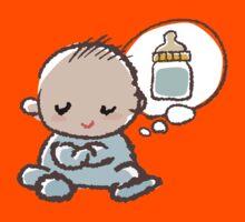 Baby boy Thinking of Milk Kids Clothes