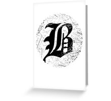 beartooth circle Greeting Card