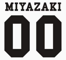 Miyazaki PYREX (black text) One Piece - Short Sleeve