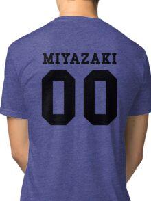 Miyazaki PYREX (black text) Tri-blend T-Shirt