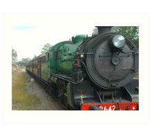 3642 - Steam Engine Art Print