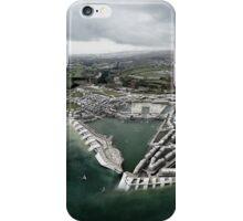 Flood Resilient Townscape - Par Docks iPhone Case/Skin