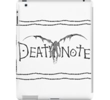 Death Note  iPad Case/Skin