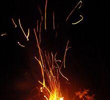 Camp Fire Easter 09 #2 by Jordan N Clarke