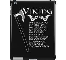 Vikings World Tour - Funny Tshirt iPad Case/Skin