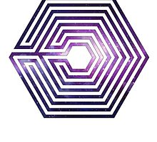 exo logo by peakock