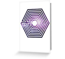 exo logo Greeting Card