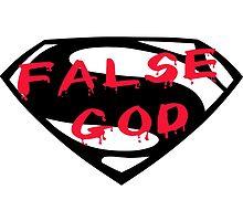 False God - Batman v Superman by t3sseract