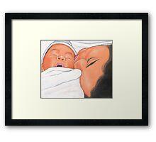 Just Born Framed Print