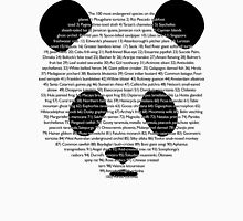 101st panda Womens Fitted T-Shirt