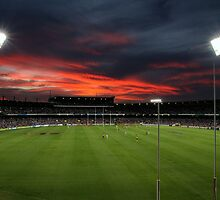 Subiaco Oval at Sunset by Paul Clarke