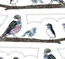 Birds On A Branch.  Sticker