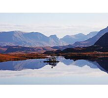 Mirror Mountains Photographic Print