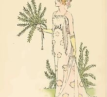 A flower wedding - Described by Two Wallflowers by Walter Crane 1905 34 - And Rose Mary by wetdryvac