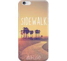 Sidewalk - Abuse iPhone Case/Skin