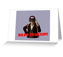 Bilbo-Swaggins Greeting Card