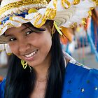 Beautiful Brazilian Young Woman with Smile and a glint in her eye by InterfaceImages