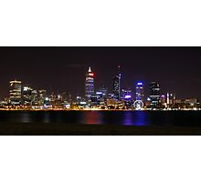 Perth Skyline Photographic Print