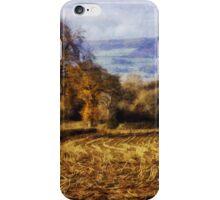 Autumn Fields iPhone Case/Skin