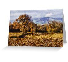 Autumn Fields Greeting Card