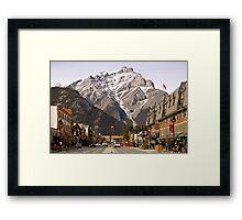 Banff Framed Print